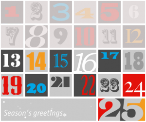 Economist's Advent Calendar for 2012